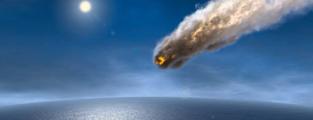 Oceanic asteroid