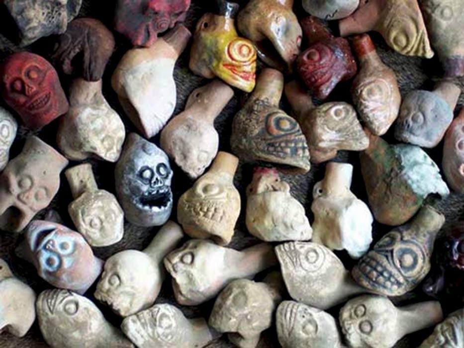 Aztec death whistles